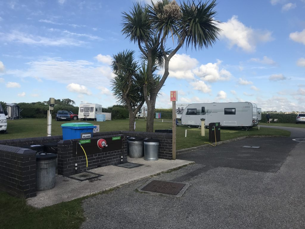 Service / Motorhome point - Godrevy Park review 2019