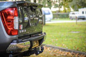 Nissan rear