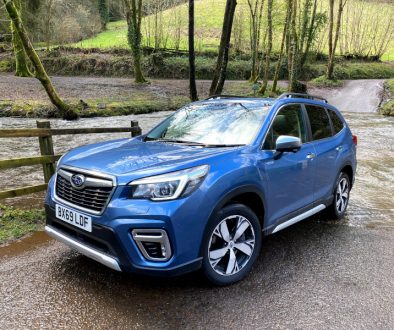 Subaru Forester e-BOXER Hybrid Electric Vehicle