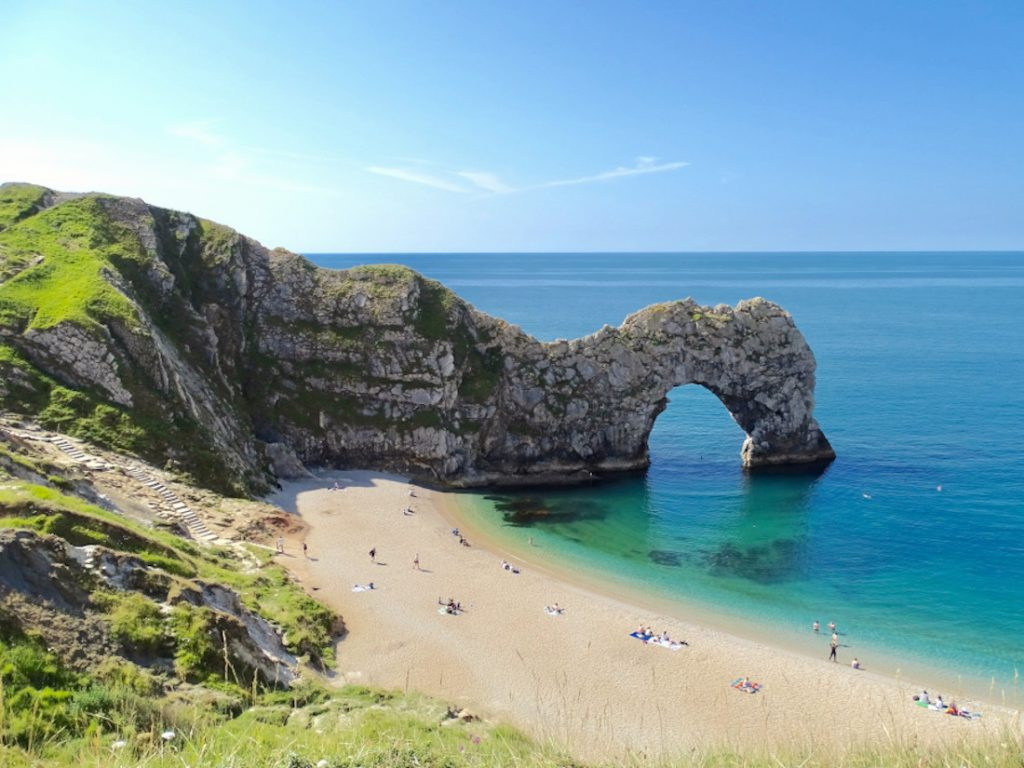 Caravan Holidays in the U.K - Durdle Door