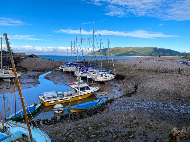 Here We Tow :Motorhoming in West Somerset Porlock Weir