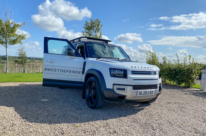 Here we Tow - New Land Rover Defender 2021