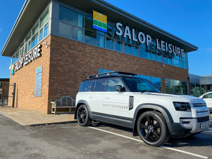 Here we Tow - New Land Rover Defender 2021 Salop visit