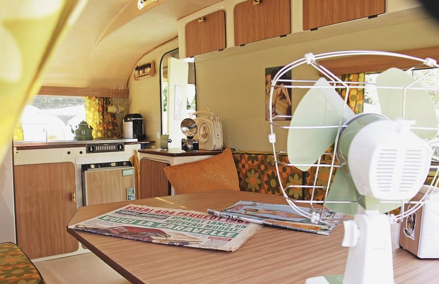 Retro caravan style