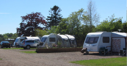 Here We Tow - Chainbridge Touring Caravan Site, Northumberland