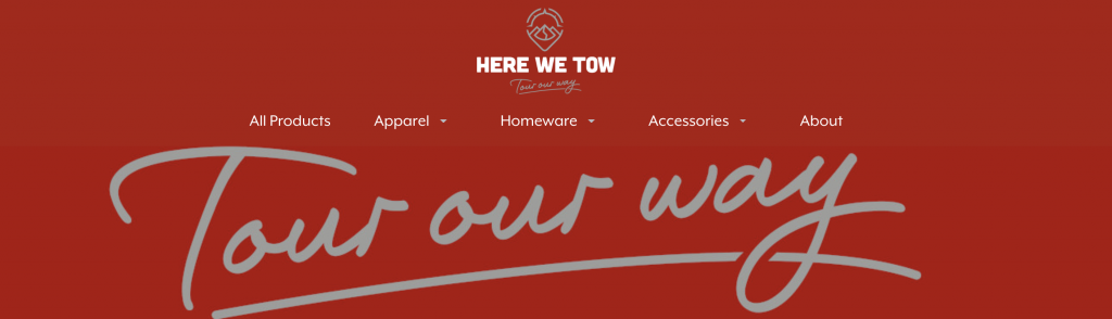 Tour Our Way: New Logo and New Shop
