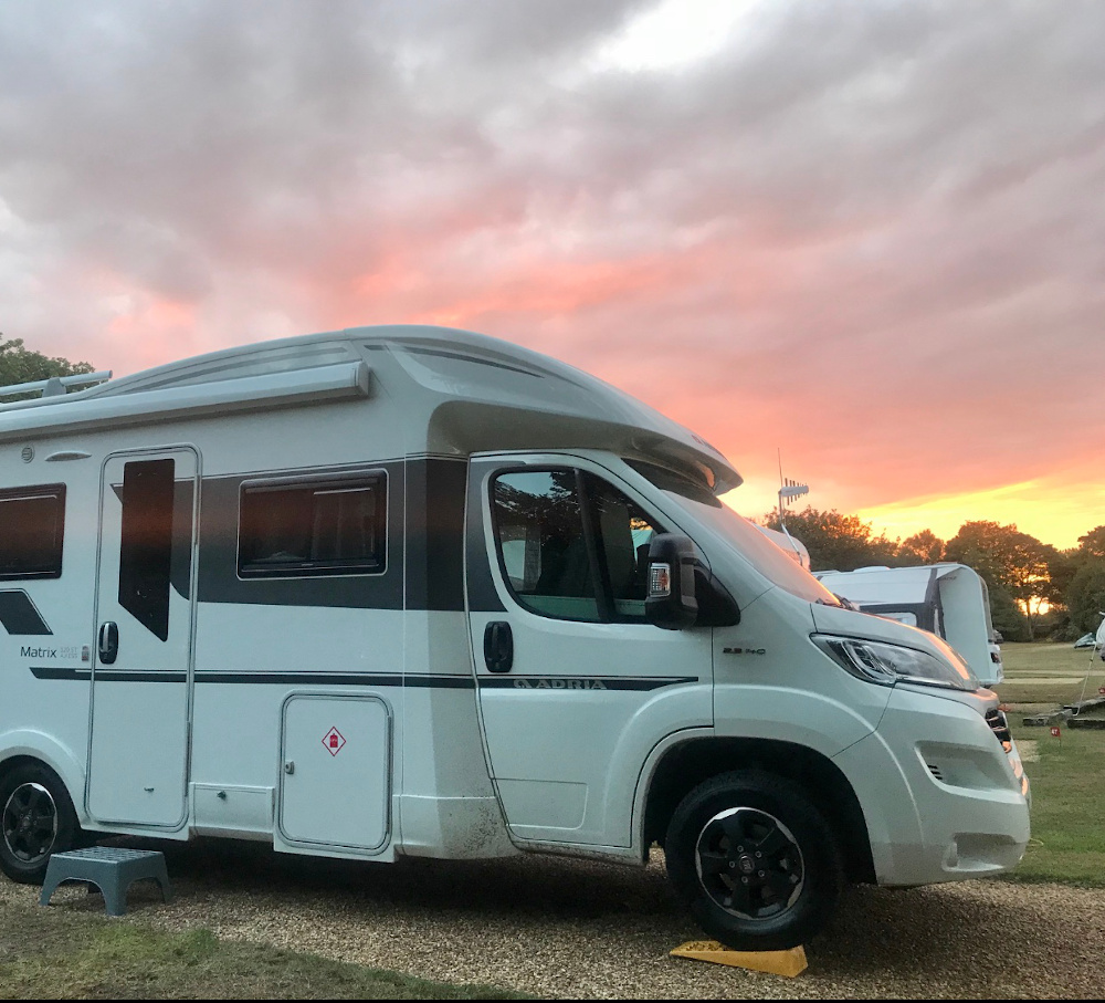 Here we Tow blog - Adria Matrix sunset Buying a New Motorhome: 5 Top Tips