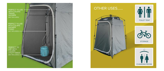 Colapz portable ensuite - here we tow blog