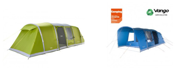 vango tent ideas - here we tow