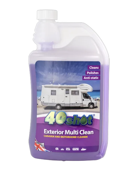 40-shot exterior clean here we tow - The Best Caravan and Motorhome Toilet and Cleaning Products