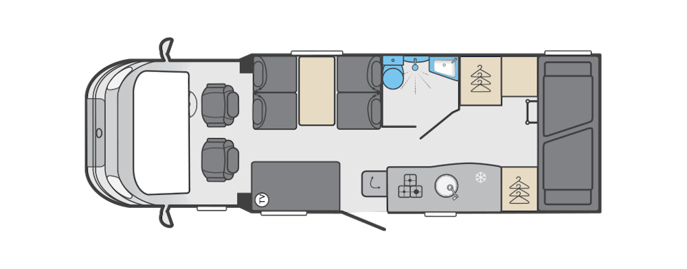 here we tow - swift edge interior